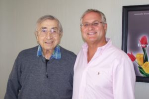 Dr. Zazzaro with Dr. Liborio Grilli